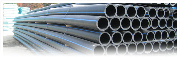 National pipe plastics products hdpe for Water main pipe material